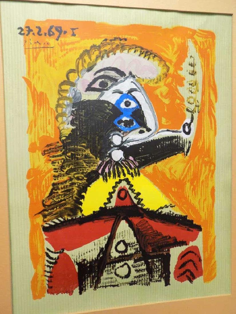 PICASSO - ABSTRACT FIGURE SILK SCREEN