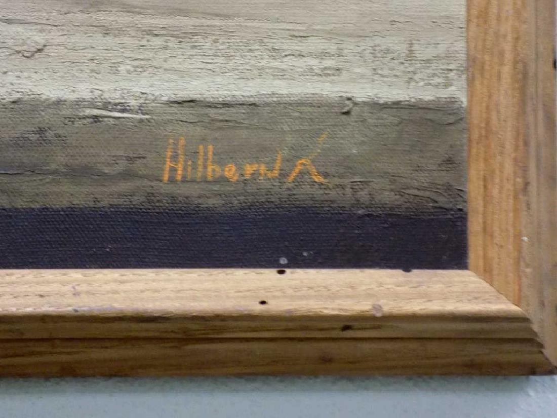 HILBER - COWBOY WESTERN STILL LIFE W/ COLT PISTOL - 3