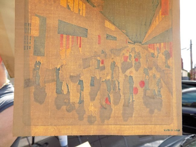 ANDO HIROSHIGE - EARLY JAPANESE WOODBLOCK PRINT - 9