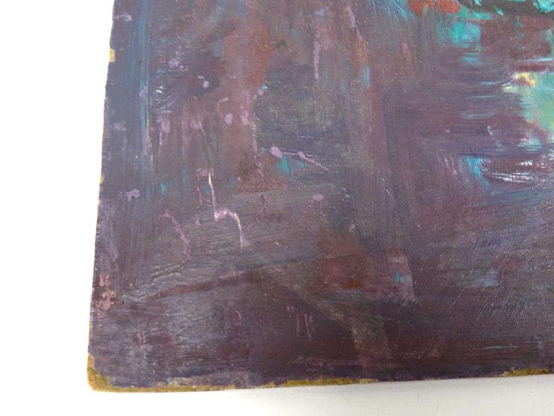 MIDCENTURY ABSTRACT STILL LIFE PAINTING - 2