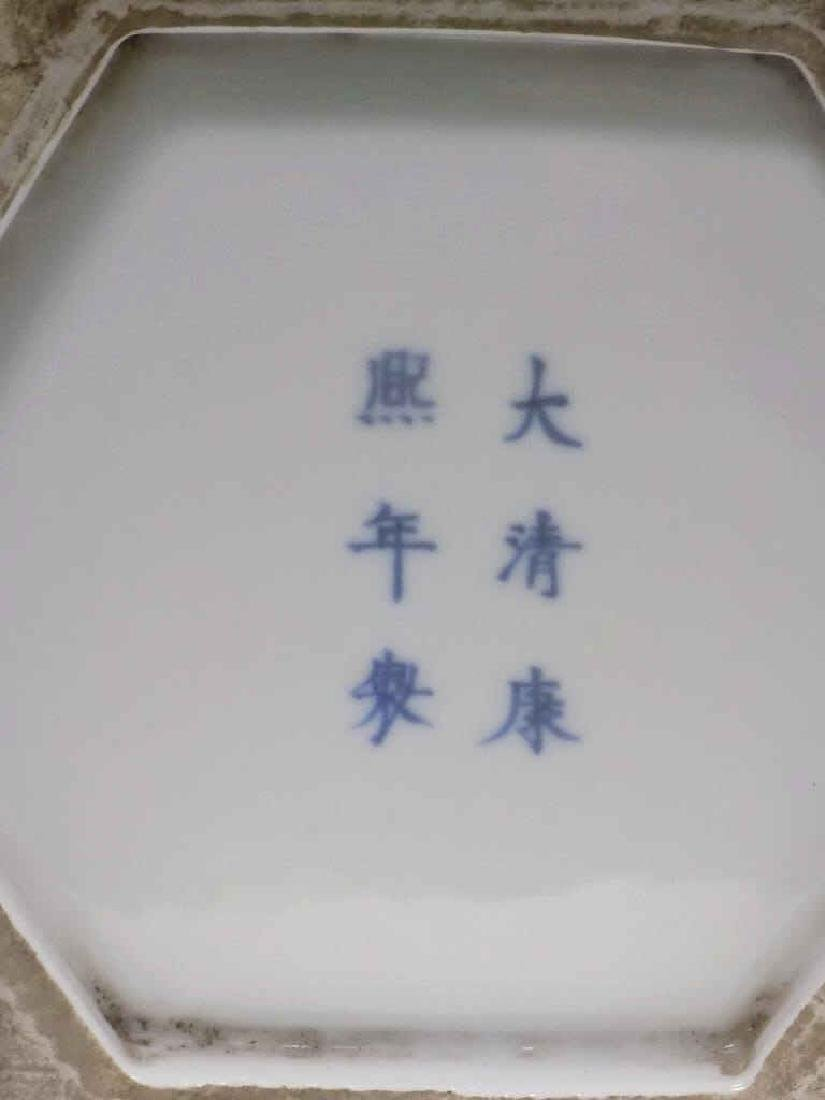 CHINESE SIGNED FAMILLE JUANE PORCELAIN VASES - 5