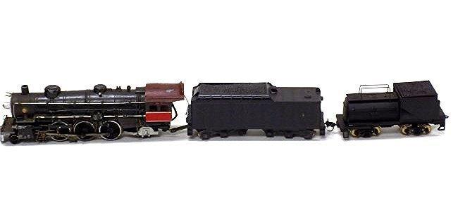 VARNEY  HO SCALE LOCOMOTIVE TRAIN W/ COAL CARS