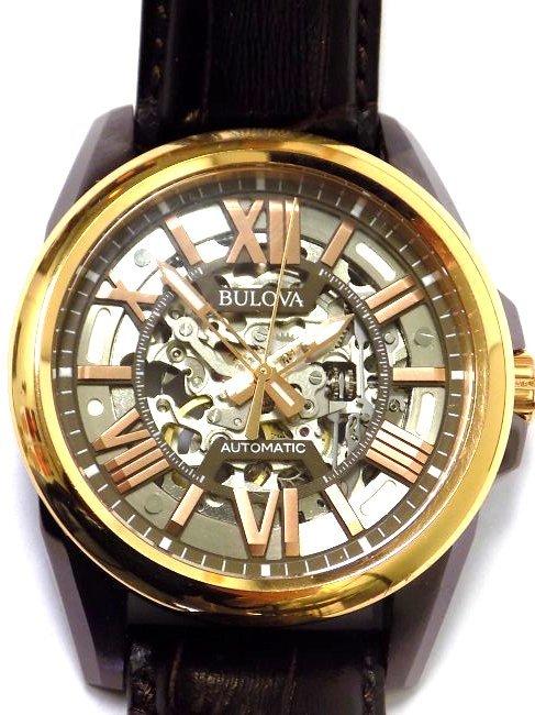 BULOVA 98A165 AUTOMATIC ROSE GOLD MEN'S WRISTWATCH - 2