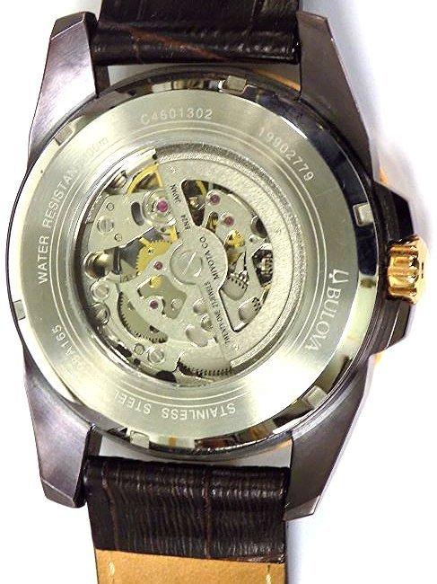 BULOVA 98A165 AUTOMATIC ROSE GOLD MEN'S WRISTWATCH - 6