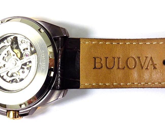 BULOVA 98A165 AUTOMATIC ROSE GOLD MEN'S WRISTWATCH - 7