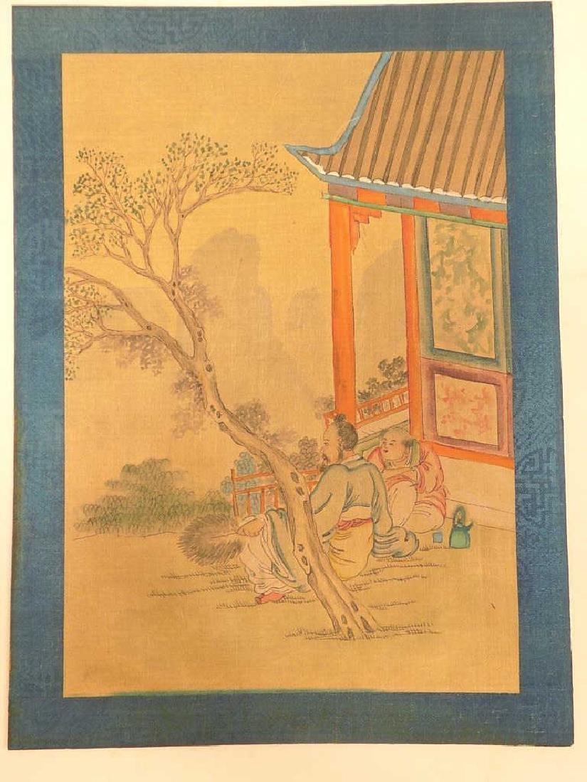 WANG CHI YUAN - CHINESE SCENIC WATERCOLOR GOUACHE