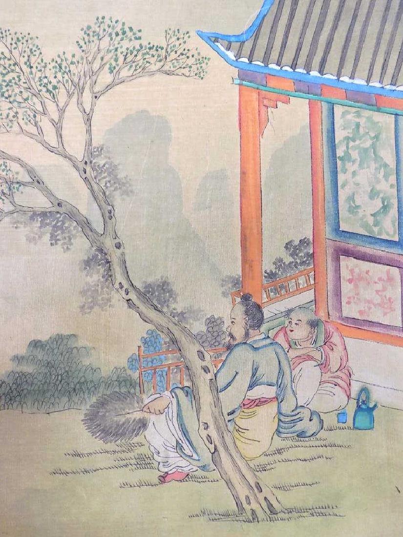 WANG CHI YUAN - CHINESE SCENIC WATERCOLOR GOUACHE - 2