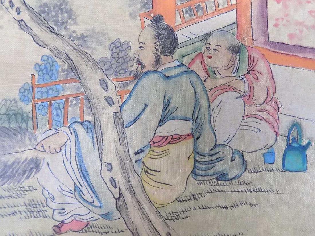 WANG CHI YUAN - CHINESE SCENIC WATERCOLOR GOUACHE - 3