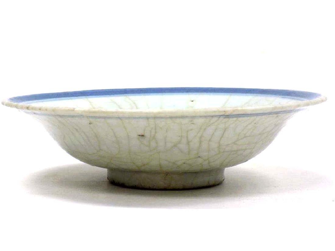 CHINESE MING CANTON FISH BOWL - 3