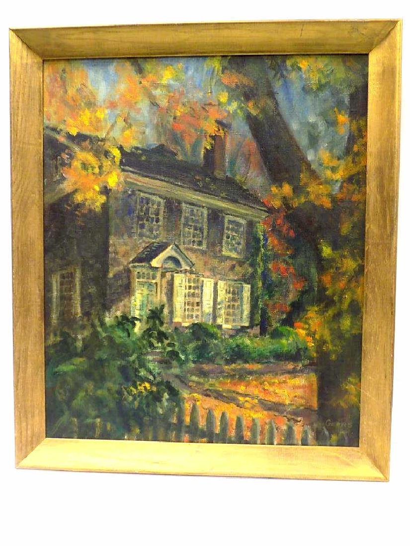GEERS - STONE HOUSE PAINTING