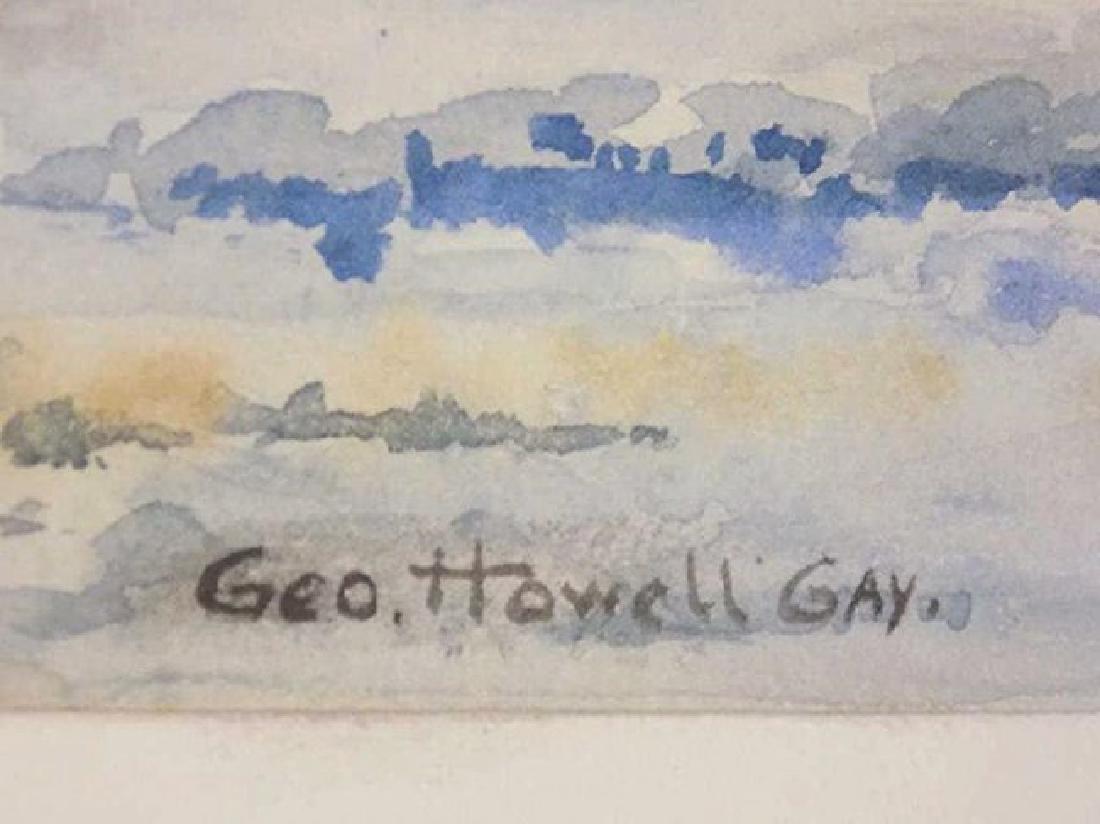 GEORGE HOWELL GAY - COASTAL WATERCOLOR PAINTING - 5