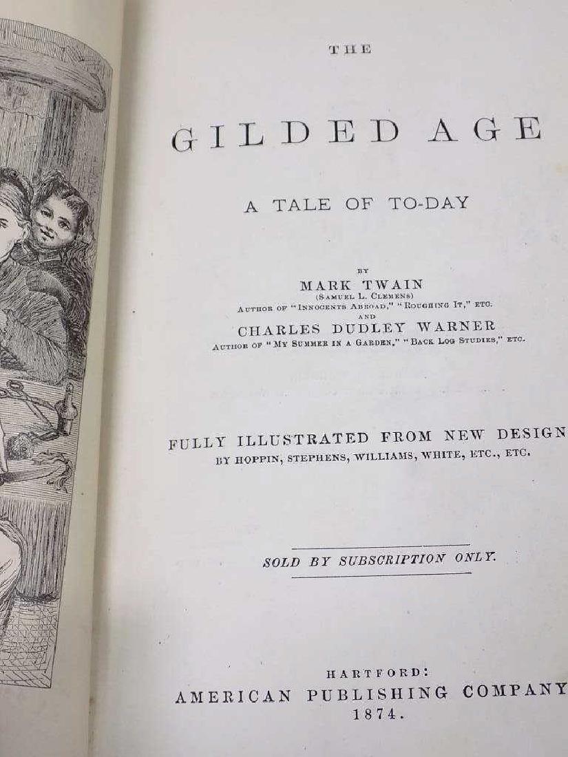 MARK TWAIN FIRST EDITION BOOK GROUP - 5