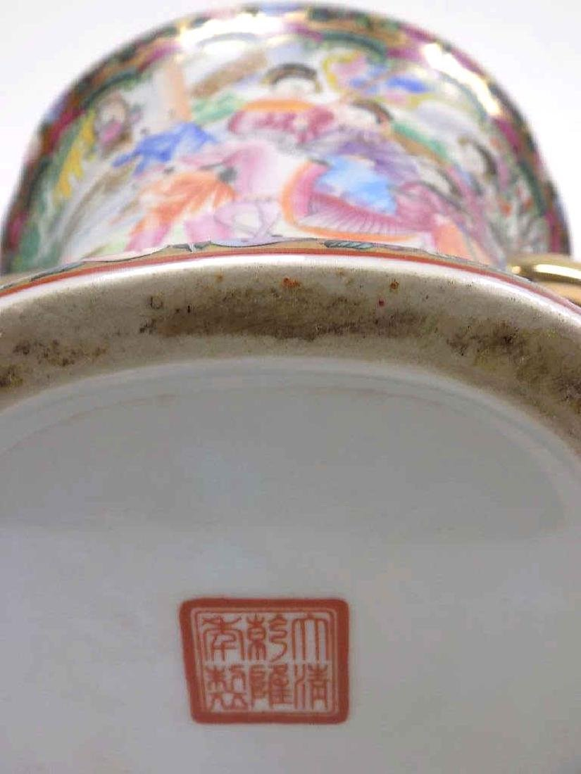 CHINESE FAMILLE ROSE URN - 6