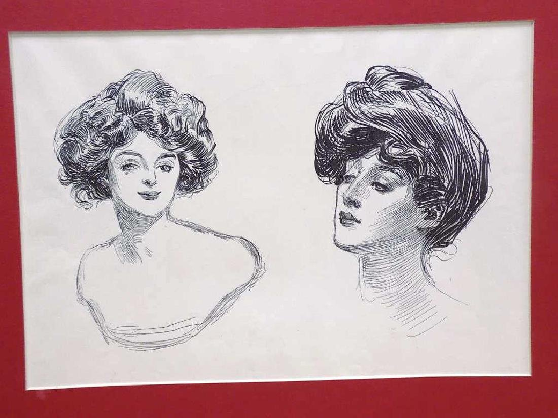 CHARLES DANA GIBSON - GROUP OF 6 LITHOGRAPHS - 2