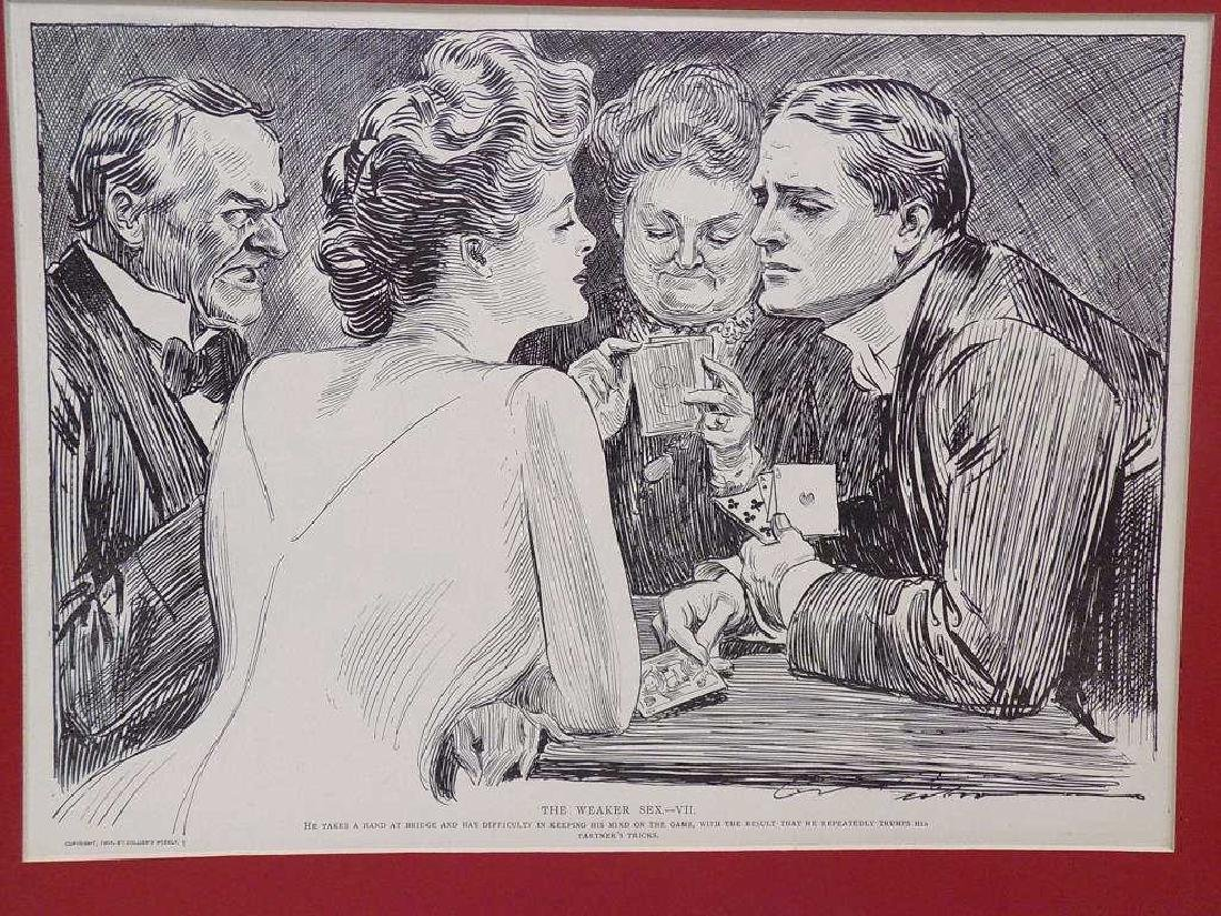 CHARLES DANA GIBSON - GROUP OF 6 LITHOGRAPHS - 3