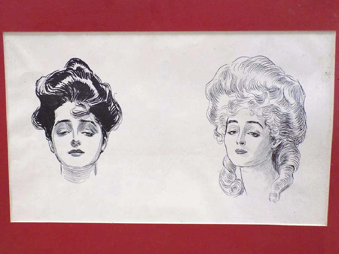 CHARLES DANA GIBSON - GROUP OF 6 LITHOGRAPHS - 4