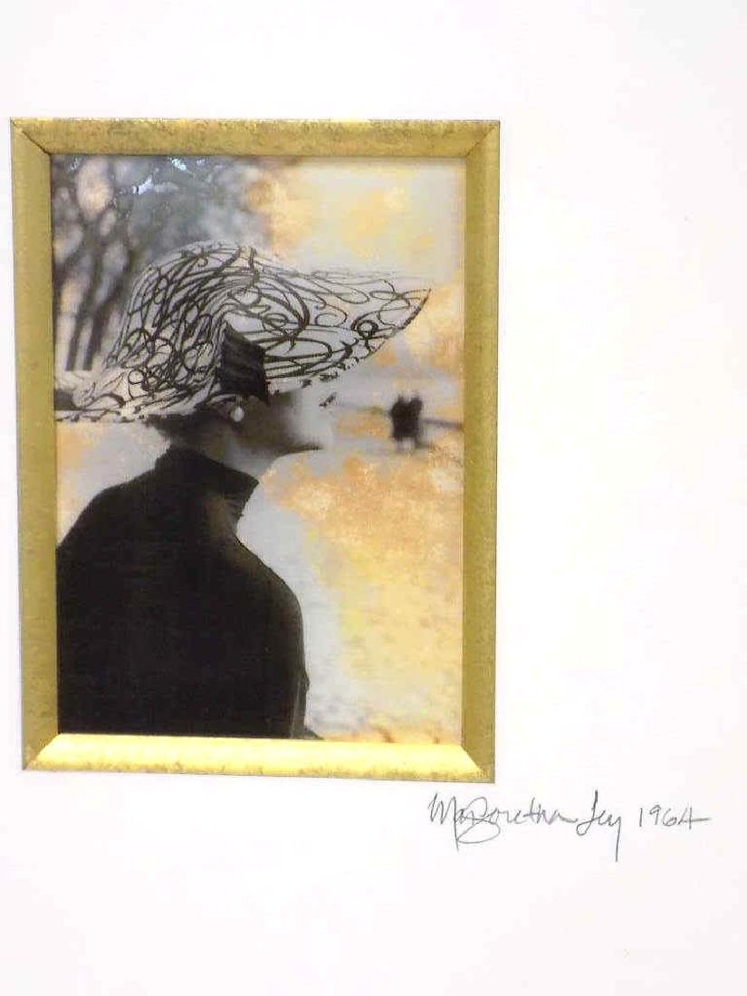 MARGARETA LEY - FASHION LADY SIGNED PHOTO PRINT - 2