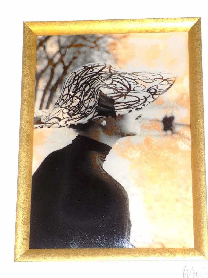 MARGARETA LEY - FASHION LADY SIGNED PHOTO PRINT - 3