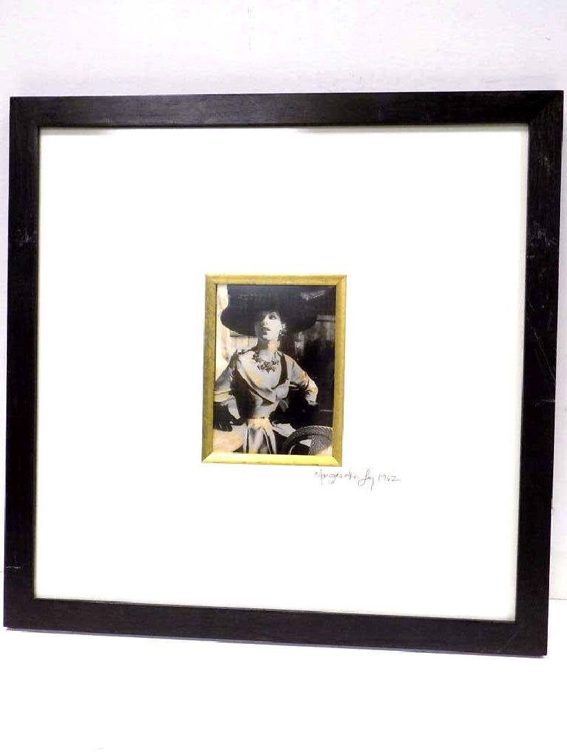 MARGARETA LEY - FASHION LADY SIGNED PHOTO PRINT