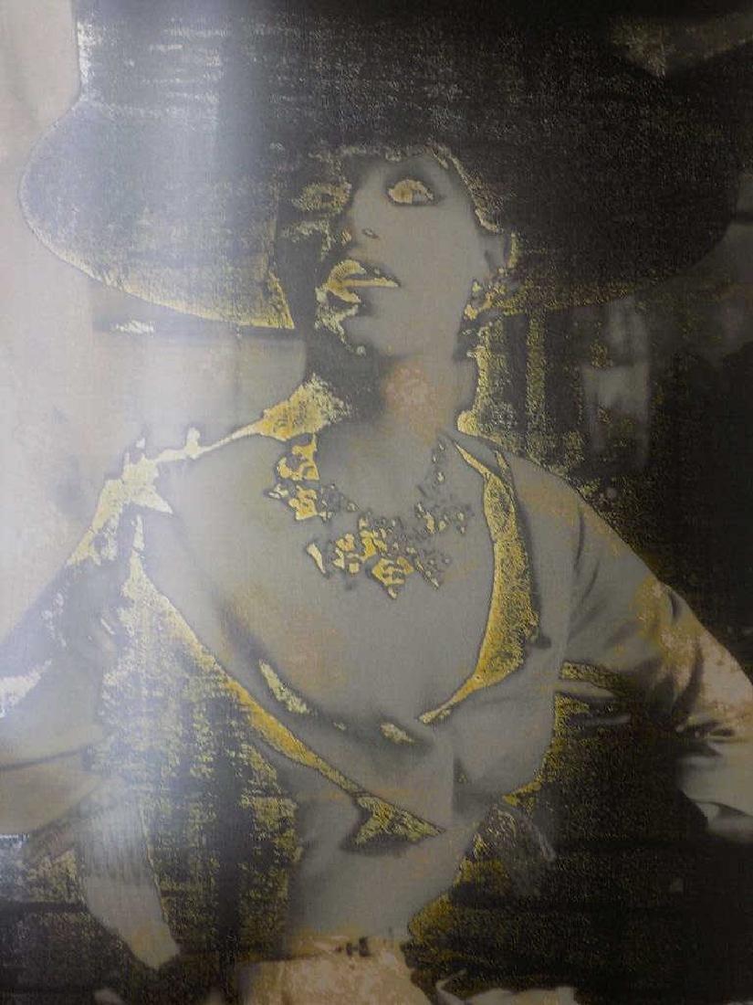 MARGARETA LEY - FASHION LADY SIGNED PHOTO PRINT - 4
