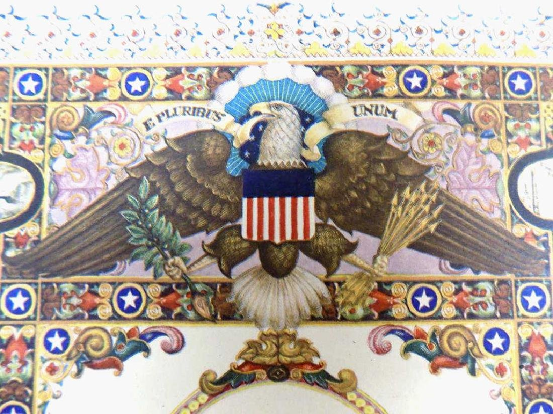 ARTHUR SZYK - UNITED STATES OF AMERICA LITHOGRAPH - 2
