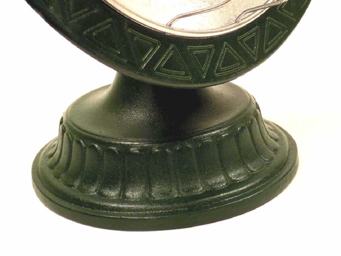 INDUSTRIAL STREAMLINE CAST IRON TABLE LAMP - 4