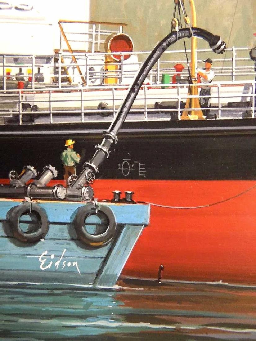 EIDSON - SHELL WELDER BOAT WATERCOLOR ILLUSTRATION - 3