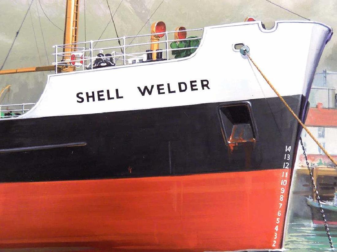 EIDSON - SHELL WELDER BOAT WATERCOLOR ILLUSTRATION - 4