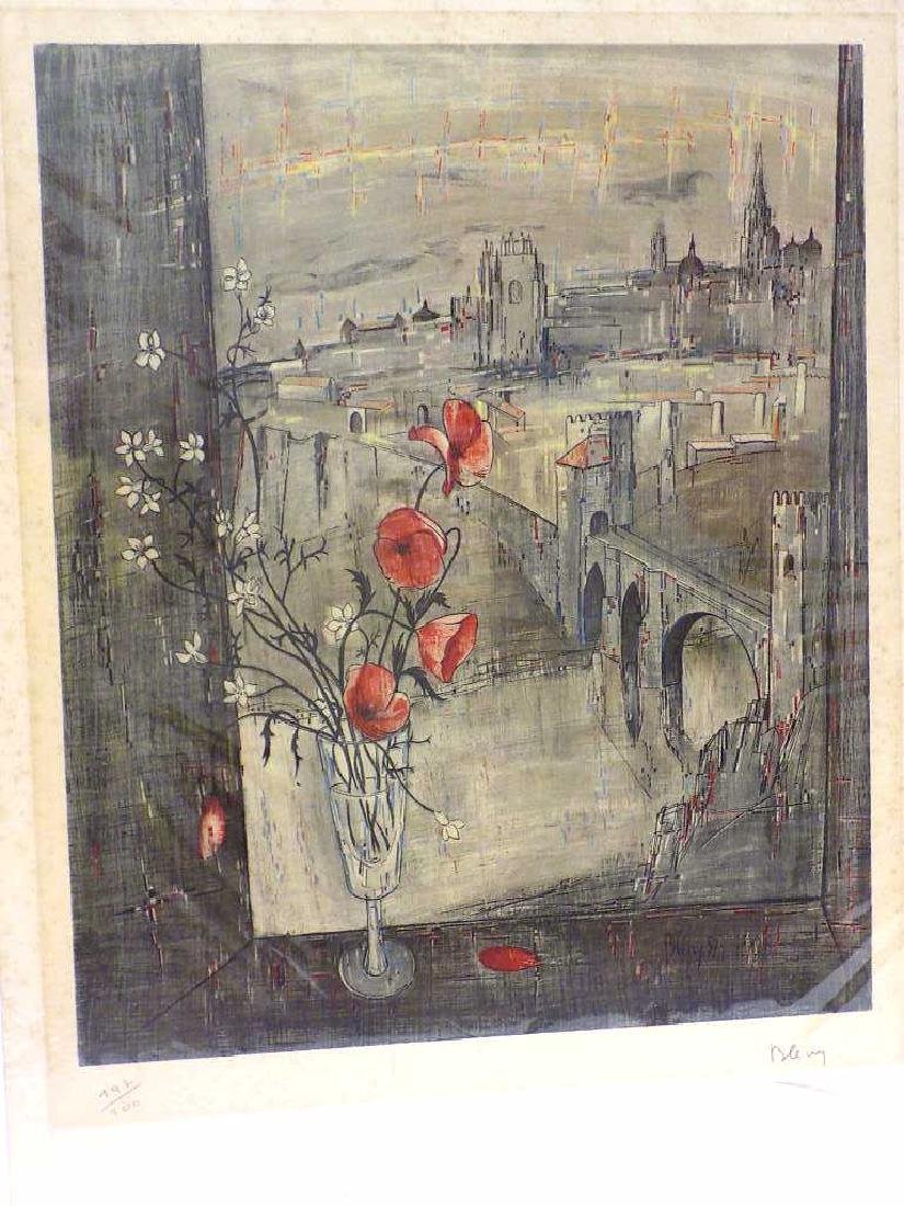 JACQUES BLENY - ARTIST SIGNED LITHOGRAPH