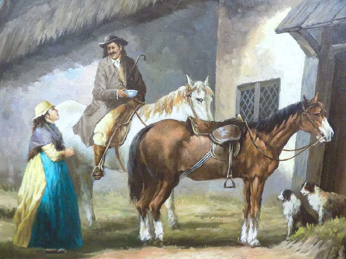 EUROPEAN COUNTRY HOMESTEAD PAINTING - 2