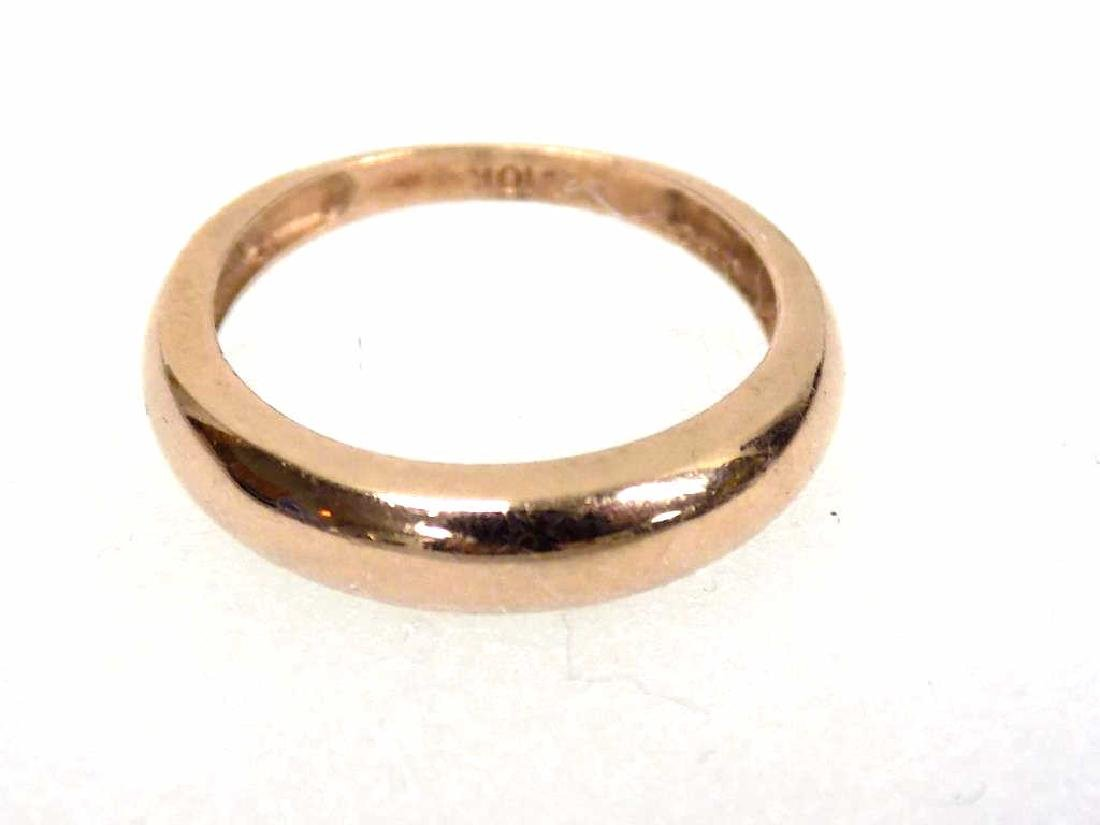 10K ROSE GOLD DRESS RING