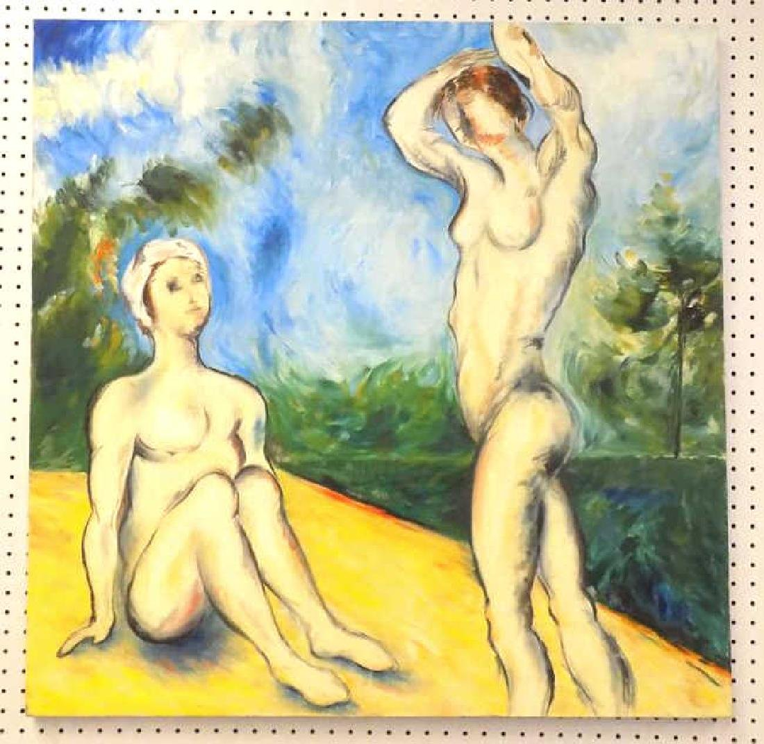 SURREAL NUDE FEMALES PAINTING
