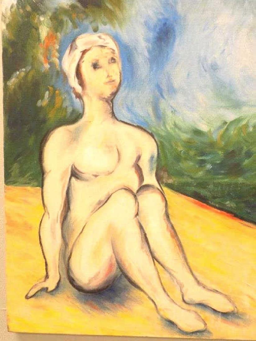 SURREAL NUDE FEMALES PAINTING - 2