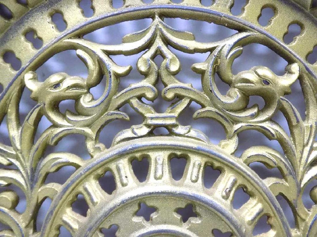 FANCY VICTORIAN IRON FIREPLACE DOOR NEW YORK - 3
