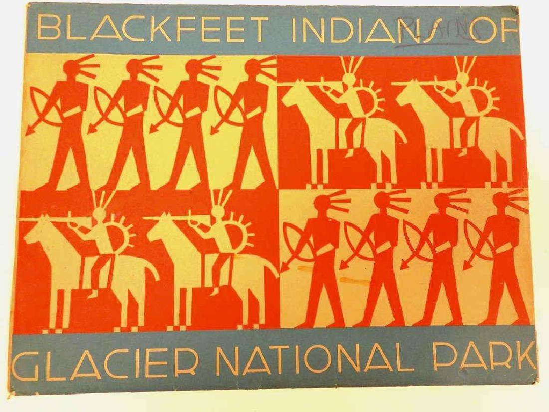 BLACKFEET INDIANS OF GLACIER NATIONAL PARK - 2