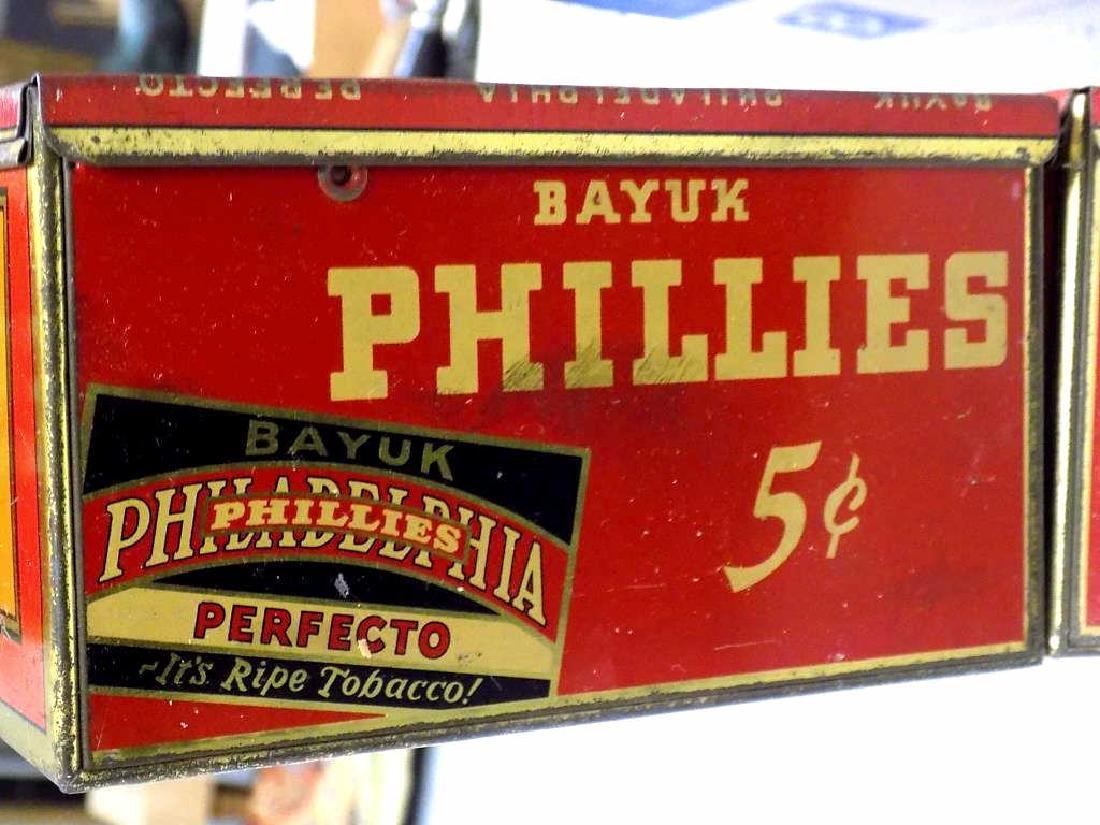 BAYUK PHILADELPHIA PHILLIES CIGARS TOBACCO BOXES - 3