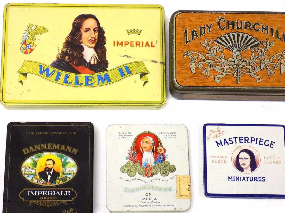 GROUP OF 20 VINTAGE TOBACCO ADVERTISING TINS - 2