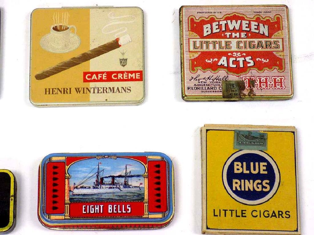 GROUP OF 20 VINTAGE TOBACCO ADVERTISING TINS - 3