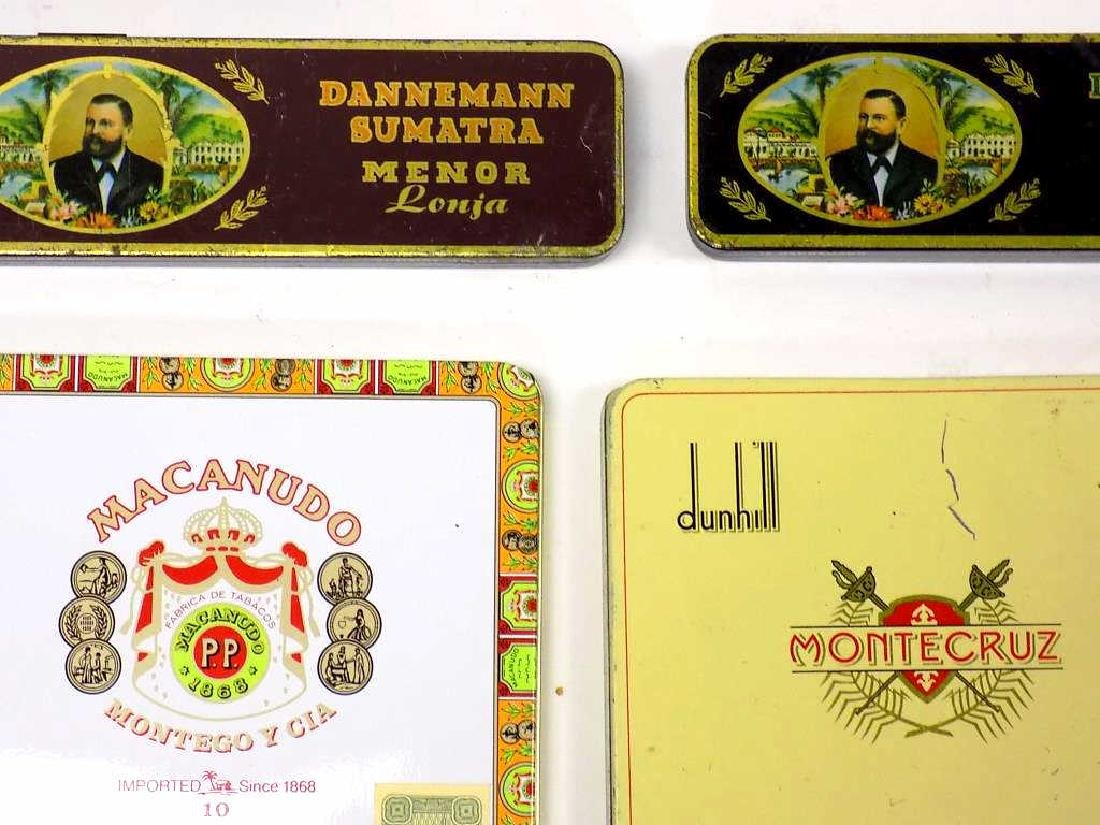 GROUP OF 20 VINTAGE TOBACCO ADVERTISING TINS - 4