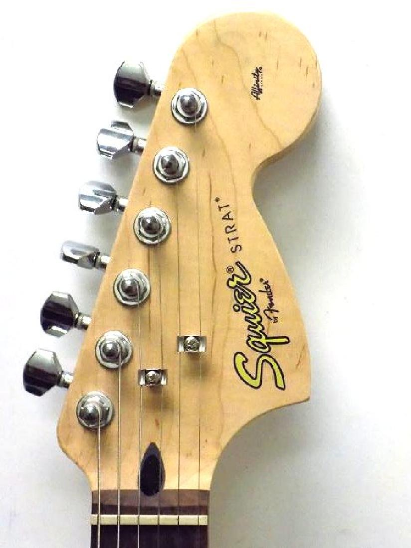 FENDER SQUIER STRATOCASTER GUITAR W/ AMPLIFIER - 2