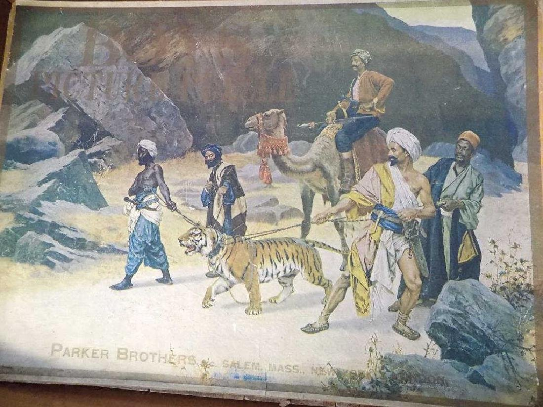 PARKER BROTHERS FAMOUS ART LITHOGRAPHY PUZZLES