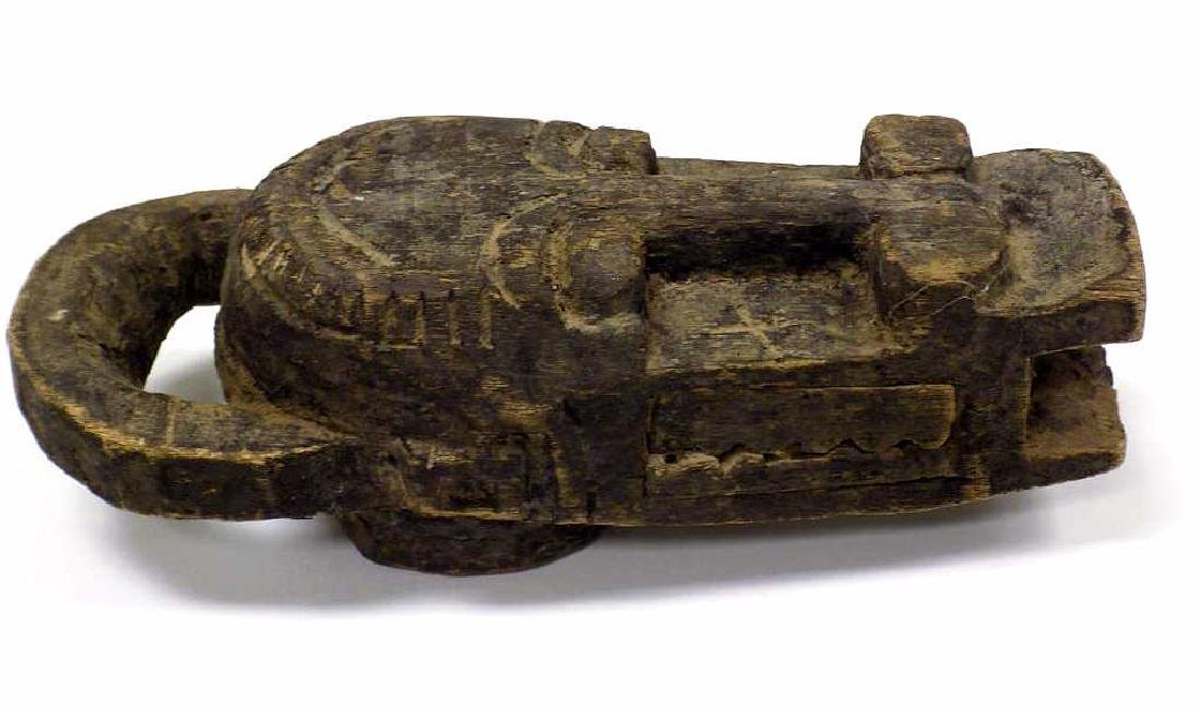 AFRICAN BAULE TRIBE WOODEN CARVING - 2