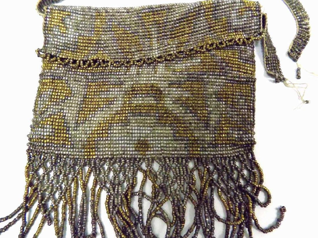 ART DECO FLAPPER GIRL BEADED FASHION PURSES - 4