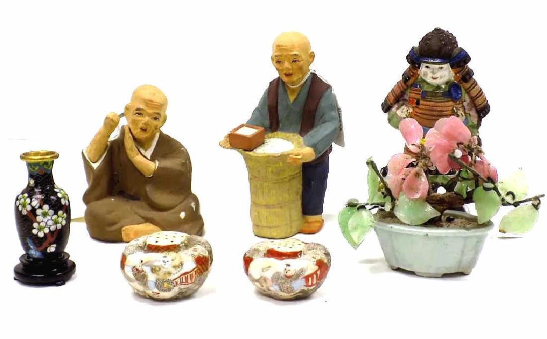 VINTAGE ASSORTED ASIAN DECORATIVE GROUP