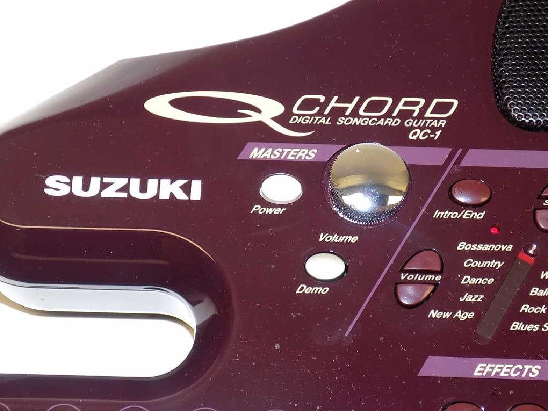 SUZUKI QC 1 Q CHORD DIGITAL SONG CARD GUITAR - 3