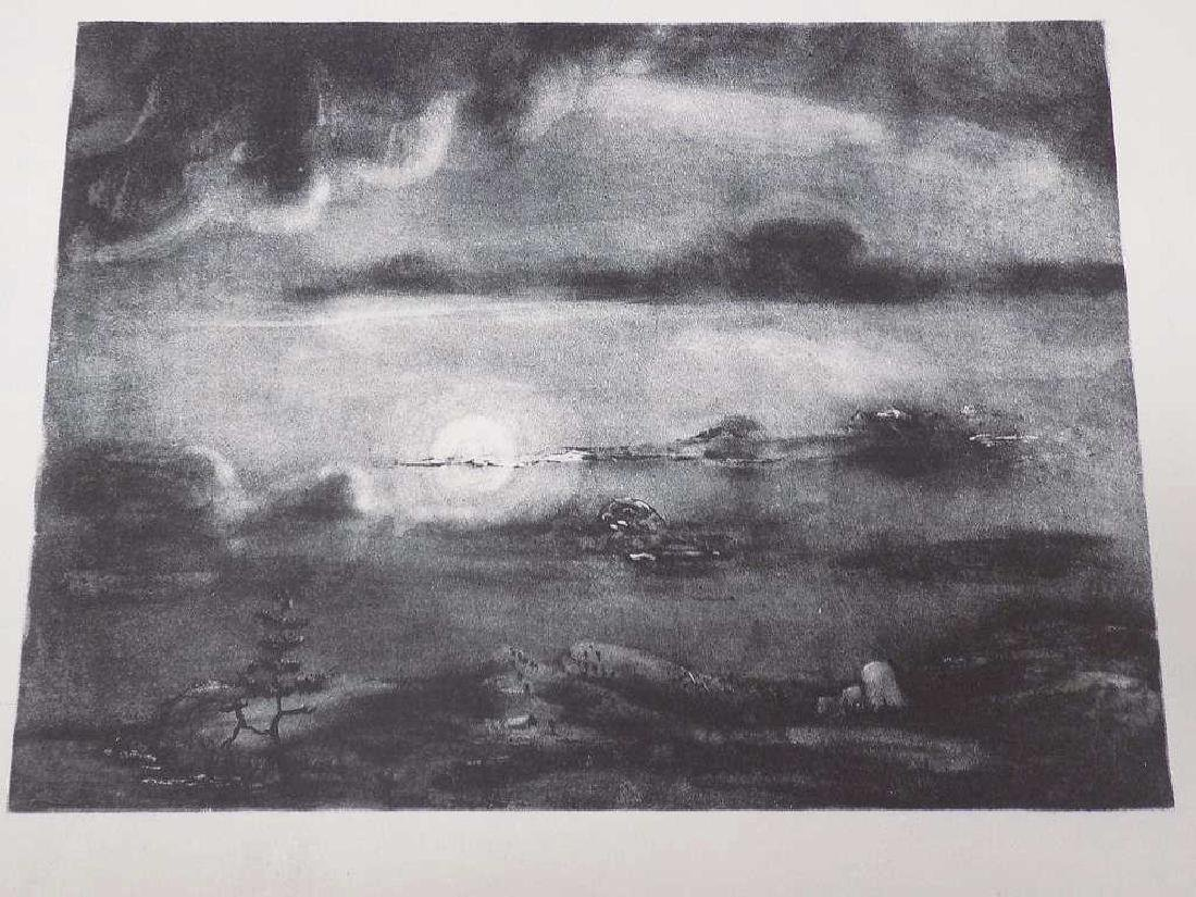 THEODORE WAHL - LIGHT AND SHADOW ESTATE LITHOGRAPH - 2