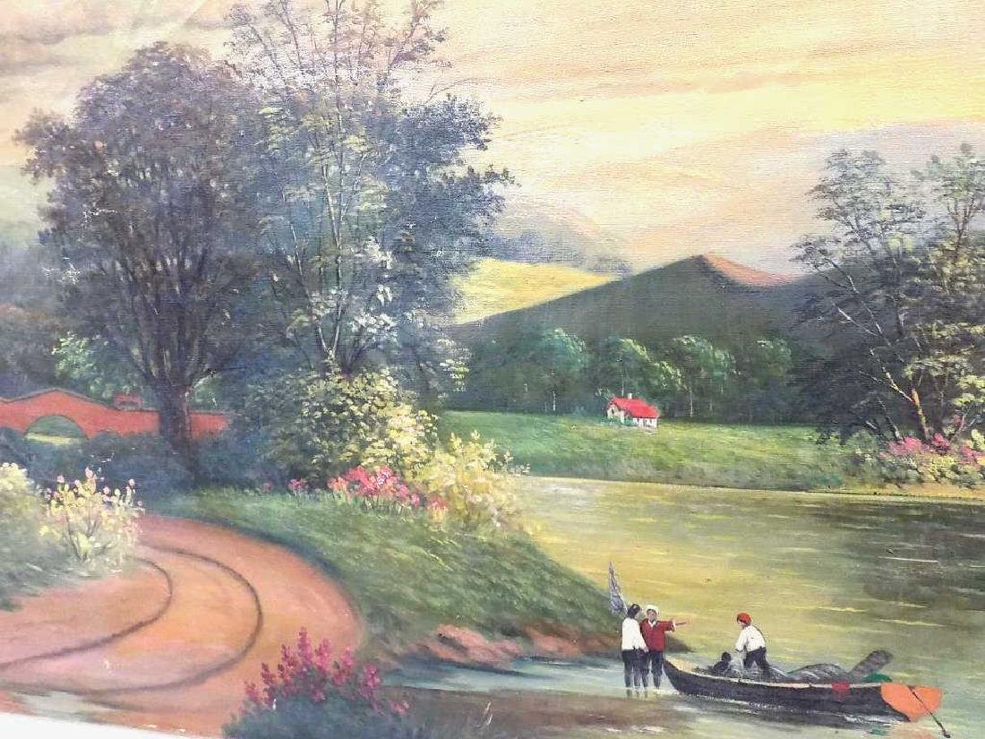J. BIANCHI - COUNTRY LANDSCAPE PAINTING - 2