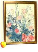 RAOUL DUFY - BOUQUET OF ROSES LITHOGRAPH