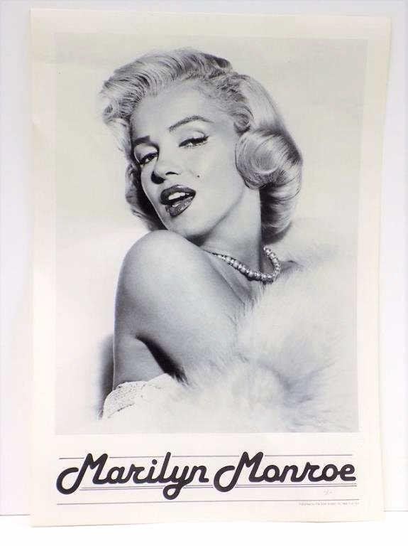 MARILYN MONROE SILVER SCREEN NY POSTER