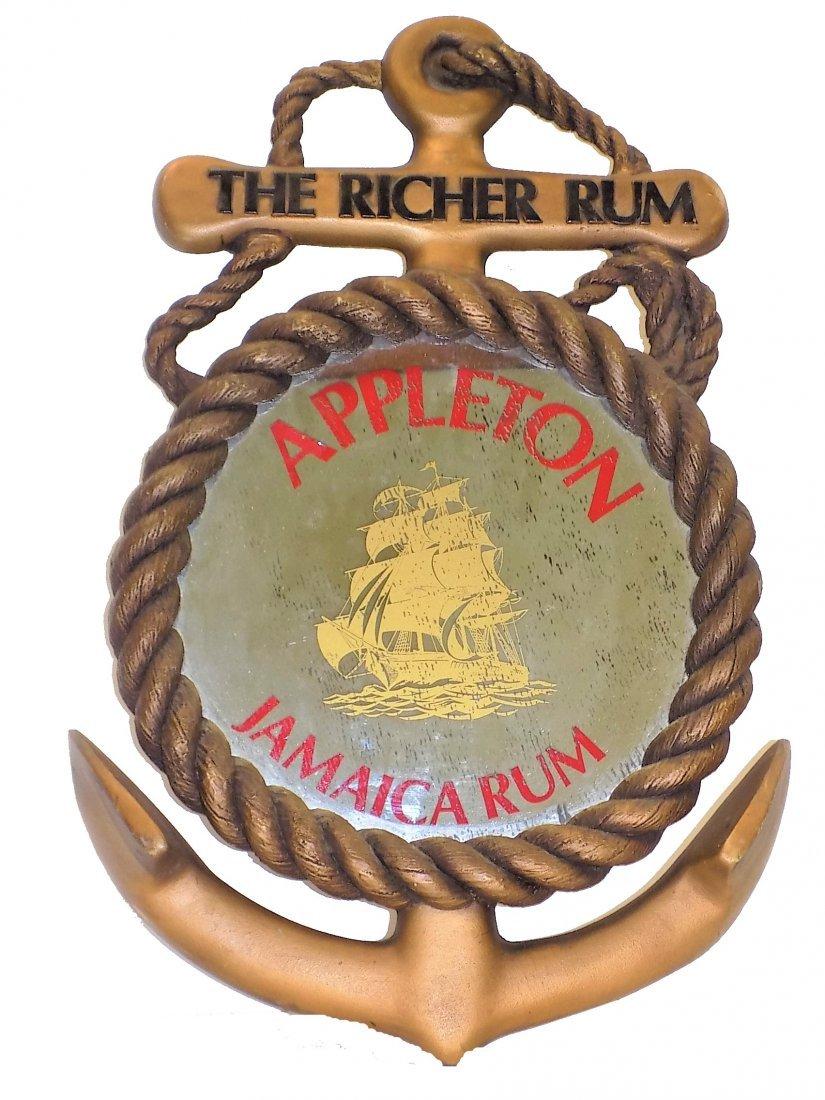 APPLETON JAMAICA RUM ANCHOR ADVERTISING MIRROR